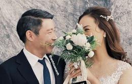 Hé lộ hậu trường chụp ảnh cưới nghệ sĩ Công Lý và bạn gái