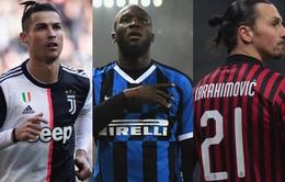 """Cuộc đua """"Vua phá lưới"""" Serie A: Ronaldo dẫn đầu"""