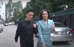 MC Thuỵ Vân theo chân diễn viên Việt Anh đi làm phim Hồ sơ cá sấu
