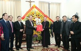 Phó Thủ tướng Trương Hòa Bình chúc Giáng sinh đồng bào Công giáo