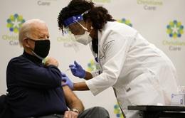 Tổng thống đắc cử Mỹ Joe Biden tiêm vaccine ngừa COVID-19