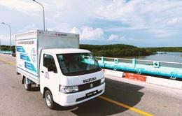 """""""Vua xe tải nhẹ"""" Suzuki - Nhỏ gọn nhưng hiệu quả cho nhu cầu vận chuyển cuối năm"""