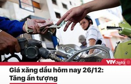 """Tin nóng đầu ngày 26/12: Giá xăng sẽ tăng 'ấn tượng"""""""