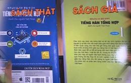 Sách lậu được dùng công khai ở nhiều trung tâm ngoại ngữ