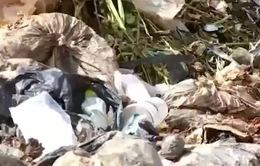 Rác thải vẫn tuồn về bãi rác Cam Ly, TP. Đà Lạt dù đã có quyết định đóng cửa