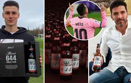 Phá vỡ kỷ lục của huyền hoại Pele, Messi… tặng bia cho đối thủ