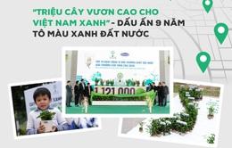 """""""Triệu cây vươn cao cho Việt Nam xanh"""" - Dấu ấn 9 năm tô màu xanh đất nước"""