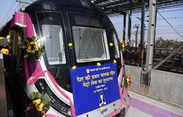 Ấn Độ khai trương tuyến tàu điện ngầm không người lái đầu tiên