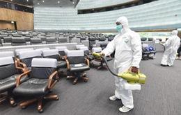 Thái Lan khử trùng Quốc hội vì có bệnh nhân COVID-19 từng đến