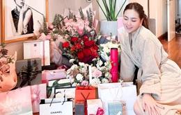 Mai Ngọc chìm trong quà hàng hiệu nhân dịp sinh nhật tuổi 30