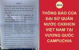 Công dân Việt Nam tại Campuchia có đủ giấy tờ tùy thân được phép nhập cảnh chính ngạch