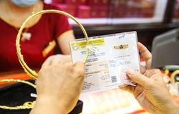 Giá vàng tăng dựng đứng trong ngày cuối năm