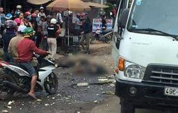 Xe tải mất phanh gây tai nạn liên hoàn, 2 người thiệt mạng