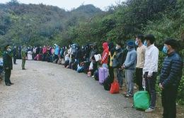 Bắt giữ 117 người nhập cảnh trái phép bằng đường mòn vào Việt Nam