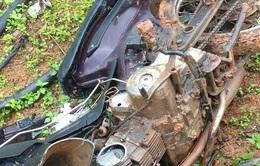Đập phá xe máy của chốt trưởng để dằn mặt