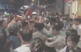 Hình sự nổ súng ngăn ẩu đả ở trung tâm mua sắm AEON Tân Phú