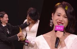 Hồ Hạnh Nhi giành giải Diễn xuất tốt nhất năm