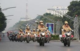 Cảnh sát giao thông mở đợt cao điểm bảo đảm an toàn dịp Tết Tân Sửu
