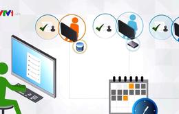 Hội nghị trực tuyến với 63 Sở GDĐT phòng chống COVID-19, hướng dẫn dạy học qua Internet, trên truyền hình