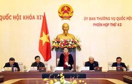 Khai mạc Phiên họp thứ 42 Ủy ban Thường vụ Quốc hội