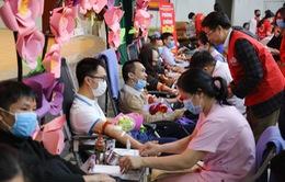 """Lễ hội Xuân Hồng 2020: """"Phòng chống nCoV - Đừng quên đi hiến máu"""""""