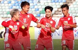 [KT] Yangon United 2-2 CLB TP Hồ Chí Minh: Công Phượng lập công, chia điểm hấp dẫn!