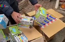 Thu giữ gần 150.000 khẩu trang bị thu gom bán giá cao