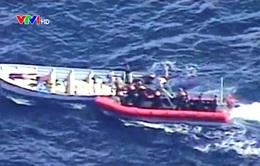 Bắt giữ hơn 9 tấn ma túy trên Thái Bình Dương