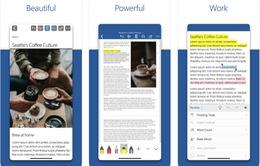 Microsoft thiết kế lại bộ ứng dụng Office trên iOS