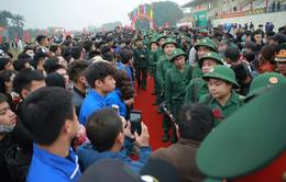 Hơn 3.500 thanh niên Thủ đô lên đường nhập ngũ