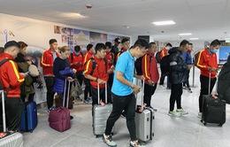 ĐT Fustal Việt Nam khởi động nhẹ nhàng trong buổi đầu tập huấn tại Tây Ban Nha