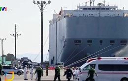 Nhật Bản cách ly trên bờ hành khách tàu Diamond Princess