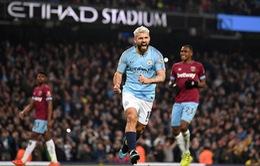 Ấn định thời gian đá bù trận Man City - West Ham sau khi bị hoãn vì bão