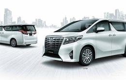 Triệu hồi xe hạng sang Toyota Alphard tại Việt Nam