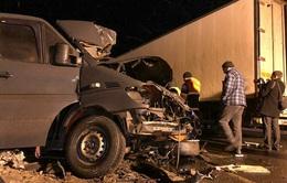 Tai nạn xe bus ở Nga khiến 8 người thiệt mạng