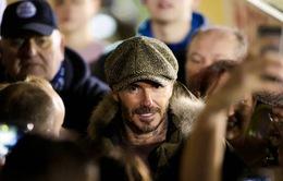 David Beckham bất ngờ xuất hiện ở sân bóng nhỏ tại Anh