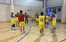 ĐT futsal Việt Nam tích cực chuẩn bị cho trận giao hữu thứ hai tại Tây Ban Nha