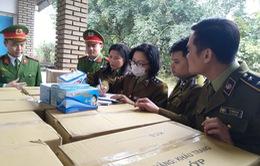 Lào Cai: Tạm giữ trên 147.000 chiếc khẩu trang các loại