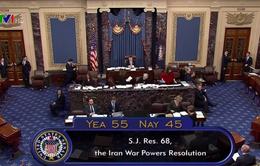 Quốc hội Mỹ ngăn chặn Tổng thống hành động quân sự chống Iran