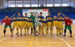 Giao hữu: ĐT Futsal Việt Nam đại thắng trước đội bóng Tây Ban Nha