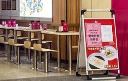 Trung Quốc: Thành phố Quảng Châu cấm ăn uống tại nhà hàng