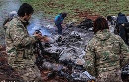 Thêm 1 máy bay trực thăng Syria bị bắn hạ