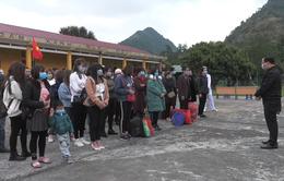 Lào Cai: 52 công dân kết thúc quá trình cách ly