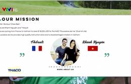 Hành trình đạp xe gây quỹ hơn 16.000 km của cặp đôi Pháp - Việt