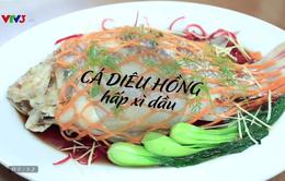 Vua đầu bếp Minh Nhật hướng dẫn làm món cá hồng hấp xì dầu cực ngon