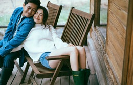 Vợ chồng Nhã Phương tình tứ trong bộ ảnh mới, quá lãng mạn
