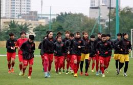 ĐT nữ Việt Nam trở lại tập luyện: Tập trung tinh thần cao nhất cho trận play-off với ĐT nữ Australia