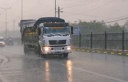Đồng bằng sông Cửu Long xuất hiện mưa trái mùa