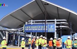 Mỹ xây dựng trung tâm tái chế nước thải thành nước sinh hoạt