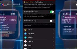 Lọc thông báo trên Apple Watch như thế nào?
